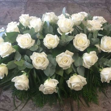 White rose Spray From - €150