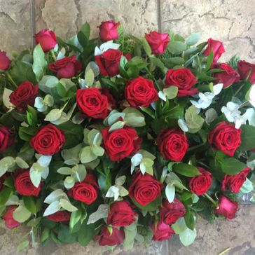 Red rose Spray From - €150